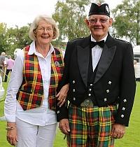 Annette and Alistair Buchanan QSM